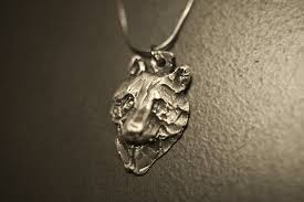 silver wolf pendant wolf conservation