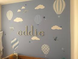 hot air balloons kites nursery wall stickers http www enchanted  on nursery wall art stickers uk with hot air balloons kites nursery wall stickers http www enchanted