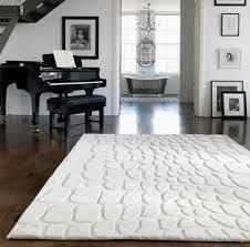 croc cream rug