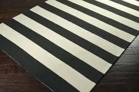 black and cream striped rug white nz blue