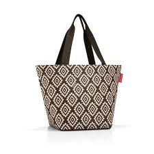 <b>Сумка Reisenthel Shopper M</b> из полиэстера коричневого цвета ...