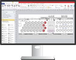 Banquet Layout Software Event Floor Plan Software Accurate Floor Plans To Scale