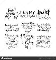 Manuscrite De Motivation Citation Calligraphie Pour La Vie Et De