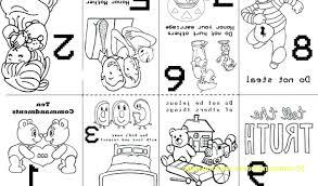 10 Commandment Coloring Pages Qnrfsubmission