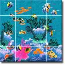 ceramic tiles art ocean. Exellent Ceramic Tile Mural Ceramic Art Tile Hand Painted For Ceramic Tiles Art Ocean Bolart Tile