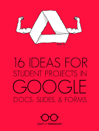 Design Ideas On Google Slides 16 Ideas For Student Projects Using Google Docs Slides And