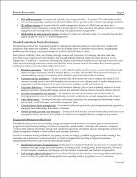 Management Consulting Resume Example Page 2