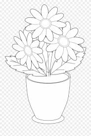 How To Draw A Vase With Designs Vase Clipart Clip Art Draw The Flower Vases Png Download