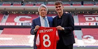 Atletico Madrid, Griezmann si presenta: