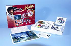 r6510 bob ross master paint set with 1 hour