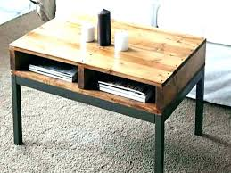 small coffee table with storage small round
