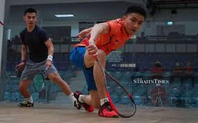 Squash: Adam relieved to survive first round
