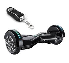Black Hoverboard With Bluetooth And Lights