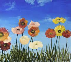 flowers oil painting on hdf by artist darko topalski