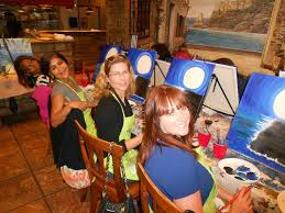 paint nite 83 photos 51 reviews paint sip downtown san go ca phone number yelp