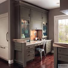 home office cabinets. Maple Home Office In Sage And Mushroom Cabinets O