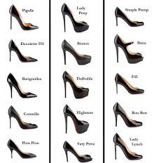 Christian Louboutin Heel Height Chart Christian Louboutin Style Guide Know Your Heels Fashion