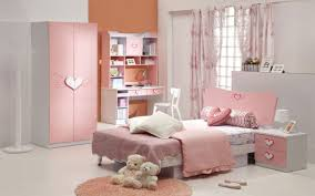 white girls furniture. White Wooden Wardrobe With Pink Painted Doors Combined Rounded Rug In Girls Bedroom, Lovely Furniture S