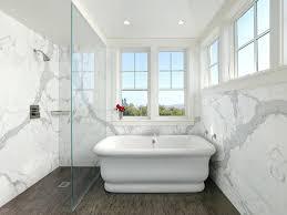 shower slab wall example of a classic marble tile mosaic floor bathroom design in quartz walls shower slab wall full walls