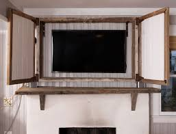 tv cabinet above fireplace tv cabinet above fireplace how to build a tv