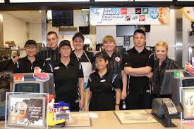 georgina cares fund mchappy day mchappy day 2011 mcdonalds crew and volunteers pose for a picture at the walmart location