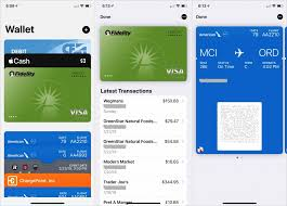 credit cards boarding passes tickets
