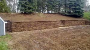 Xtreme Landscape Design Replacing Railroad Ties With Brick Retaining Wall Extreme