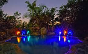 swimming pool lighting design. Exellent Lighting Fountains Design In Swimming Pool Lighting Design O