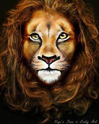 learn how to create an amazing realistic lion makeup look by watching this video tutorial inspired by the lion king makeup scar lion king and