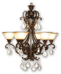 artcraft ac1830 florence 6 light chandelier loading zoom