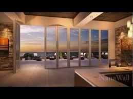 nanawall panels bifold glass patio doors