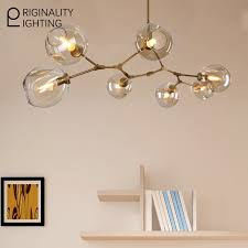furniture elegant branching bubble chandelier 17 lindsey adelman 7 globe glass modern pendent light fixtures lamparas