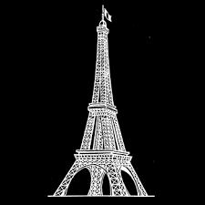 Disegno Traforo N501502503 Torre Eiffel