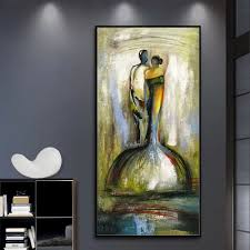 details about mintura handpainted goldfish abstract oil paintings on canvas picture art