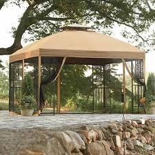 sears monaco gazebo replacement canopy by sears canada gazebo replacement canopy garden winds canada