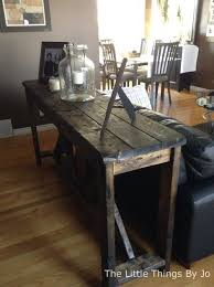 how to build rustic furniture. Brilliant Furniture Diy Rustic Console Table Diy Painted Furniture  Woodworking Projects Intended How To Build Rustic Furniture