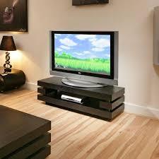 designer television standcabinet black oak flat packed  inch