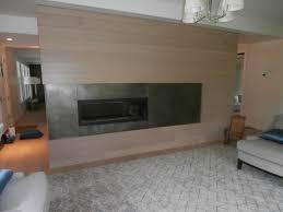 patina finish zinc fireplace surround