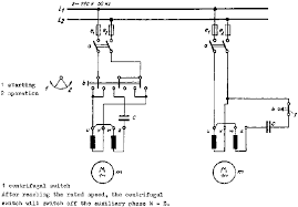 single phase motor connection capacitor diagram single 4 2 three phase machines on single phase motor connection capacitor diagram
