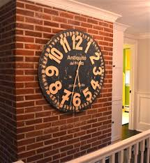 cool office clocks. Good Looking Oversized Wall Clocks In Spaces New York With Next To Antique Clock Alongside Cool Office O