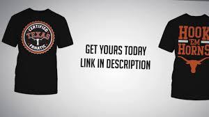 Longhorn T Shirt Designs Texas Longhorns Shirts Ut Official Tees Youtube
