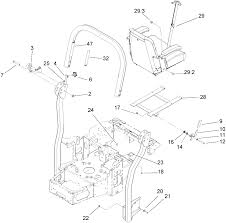 Roll over protection system assembly no 107 8093