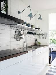 kitchen task lighting. Swing Arm Lamps In The Kitchen | Made Persbo Task Lighting F