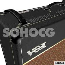 ac30. vox ac30 3d model top boost guitar amp \u0026 alnico blues ac30
