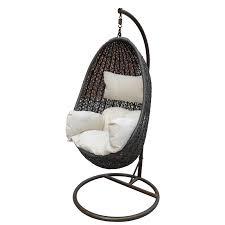 mimosa tear drop hanging egg chair i n 3240537 bunnings warehouse