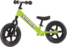 Strider #12 Classic No-Pedal Balance Bike, Green ... - Amazon.com