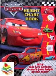 Kampung Buku Anak Height Chart Story Book W Stickers Cars