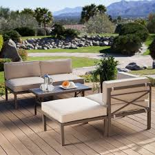 patio patio couch contemporary woven sofa in dark brown chairs diy concept of sectional patio set