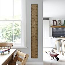 Hang The Charts On The Wall Kids Rule Giant Ruler Height Chart Non Personalised