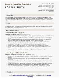 Bank Reconciliation Resume Sample 40 Amazing Photograph Of Accounts Payable Resume Example